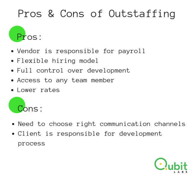 pros cons outstaffing