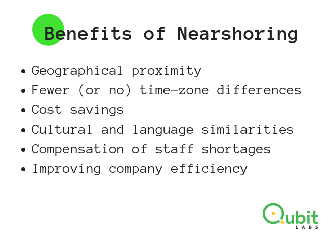 benefits of nearshoring