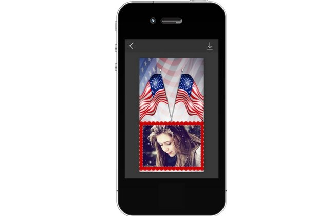Happy Independence Day Of United State Of America Photo Frames & Greetings