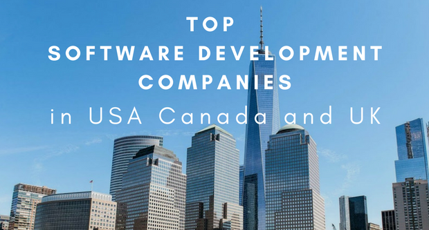 List of top oftware development companies in USA UK Canada