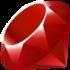 Logo of Ruby
