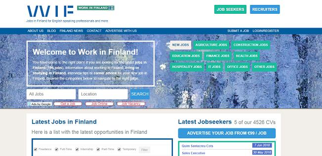 work in finland