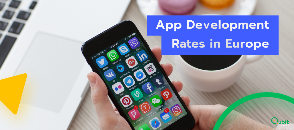 App Development Rates in Western vs. Eastern Europe