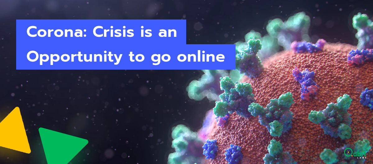 grow online during a crisis