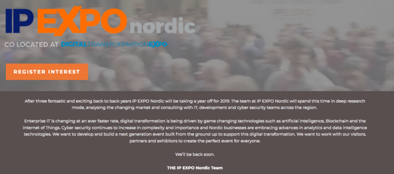 IP EXPO Nordic conference 2020