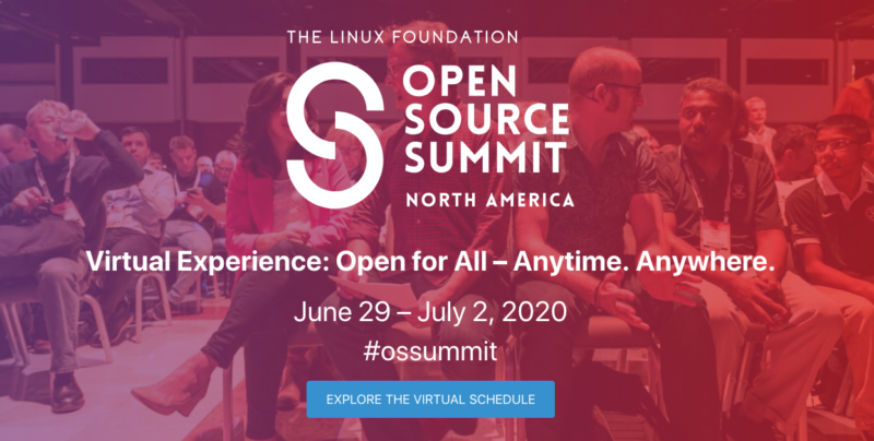 Open Source Summit North America conference 2020