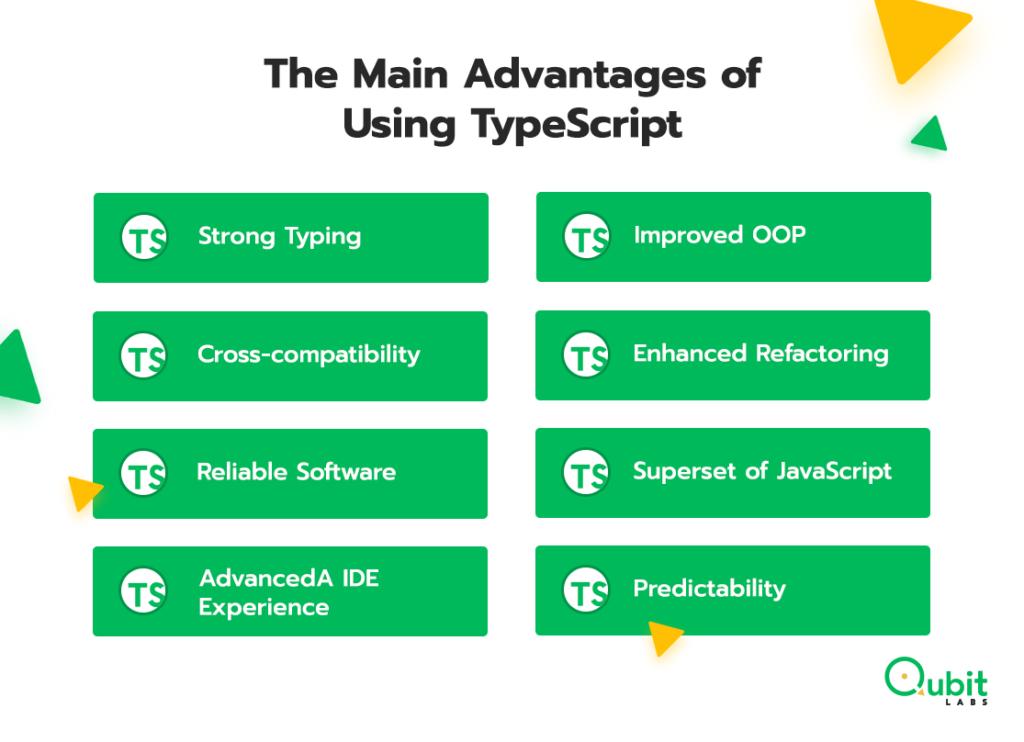 main advantages of typescript