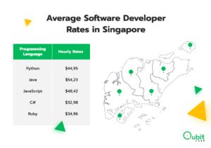 Average Software Developer Rates in Singapore